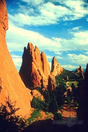 """Garden of the Gods"", Kolorado, ASV"