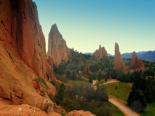"""Garden of the Gods"", Kolorado, ASV"