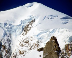 Mont Blanc/Monte Bianco - Baltais kalns