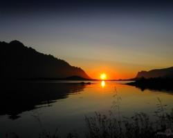 Pusnakts saule - 2. foto