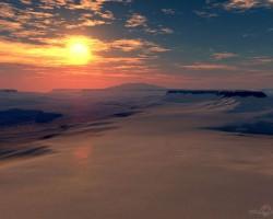 Pusnakts saule - 3. foto