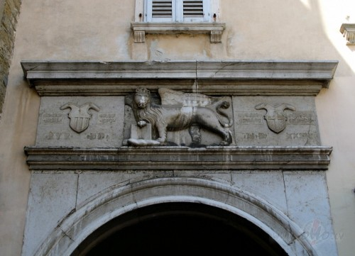 Spārnotais lauva - Venēcijas republikas simbols (Slovēnija)