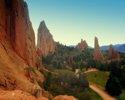 """Garden of the Gods"", Kolorado, ASV - 2. foto"
