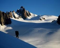 Alpi, Monblāns un citas virsotnes tā rajonā
