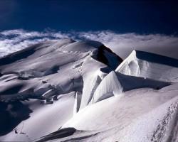 Alpi, Monblāns un citas virsotnes tā rajonā - 2. foto