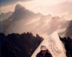 Alpi, Monblāns un citas virsotnes tā rajonā - 3. foto