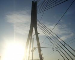 Nesen pārgāju pa Vanšu tiltu - 2. foto