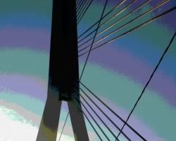 Nesen pārgāju pa Vanšu tiltu - 3. foto