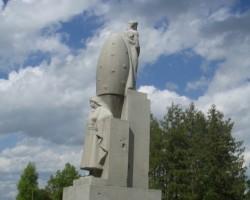 Džūkste, piemineklis I Pasaules karā kritušajiem pagasta vīriem