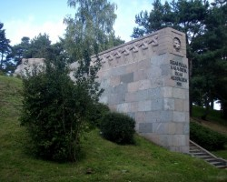 Rīga, Imanta, Sudrabkalniņš, piemineklis Rīgas atbrīvotājiem