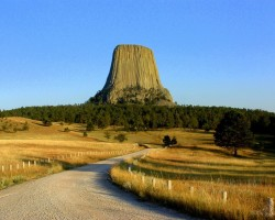 Devils Tower, 1558 m, Wyoming, USA - 1. foto