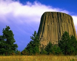 Devils Tower, 1558 m, Wyoming, USA - 2. foto