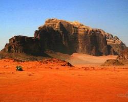 Vadi Rum, Jordānija - 3. foto