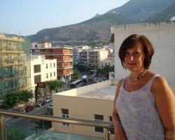 Uz viesn. balkona Loutriķos-dzimš.d.rīts