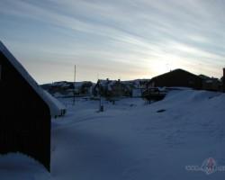 Vakars Grenlandē