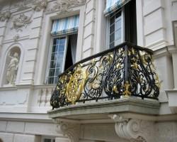 Fridriha medību pils balkons