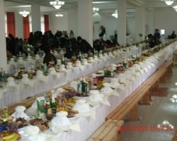 kāzu galds Abhāzijā