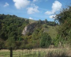 Thor´s cave (ala) Peak District. - 1. foto