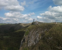 Thor´s cave (ala) Peak District. - 3. foto