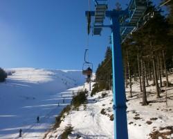 Kalni, Ukraina, slēpošana - 1. foto