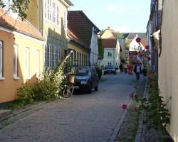 Dānija...., pils. Odense - 2. foto