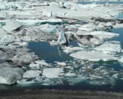 Aisbergu ezers.