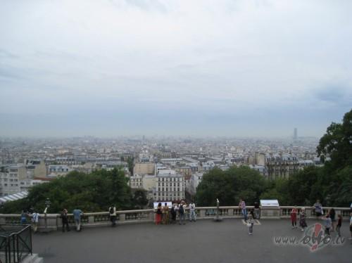 Skats uz Parīzi no Manmartras (Francija)
