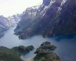 Ziemeļnorvēgijas fjords