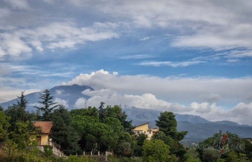 Braucot uz etnu (Itālija)